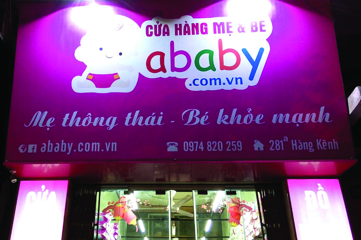 Cửa hàng Mẹ & Bé Ababy