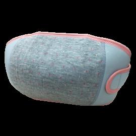 Đai nâng đỡ bụng hỗ trợ thai phụ màu xám chấm bi size M