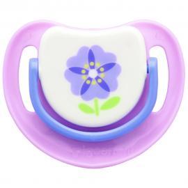 Ty ngậm Silicone Bước 2 hoa tía