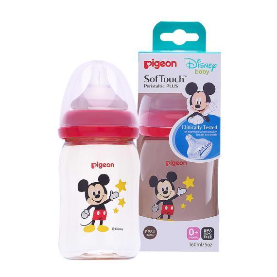 Bình sữa Disney PPSU Plus 160ml (SS)
