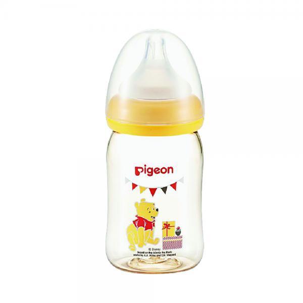 Bình sữa PPSU Plus gấu Pooh Pigeon 160ml (SS)