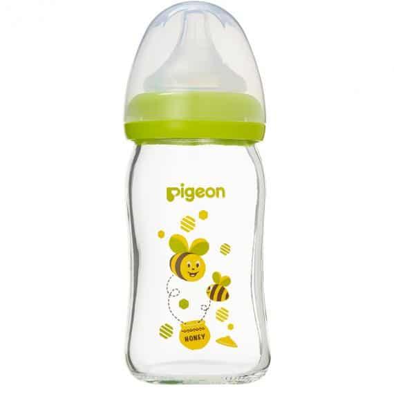 Bình sữa thuỷ tinh Plus 160ml Con Ong (SS)