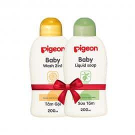 Tắm gội 200ml 2in1 Hoa hướng dương Nắp màu tặng Sữa tắm em bé 200ml Nắp màu HSD 04-2020