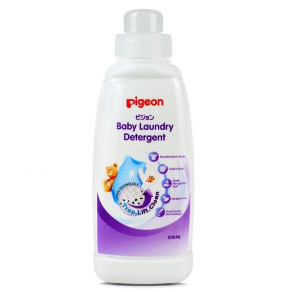 Nước giặt quần áo trẻ em Pigeon chai 500ml