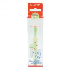 Bàn chải đánh răng bước 3 màu xanh lá nhạt HSD: 12/2021 SL: 2