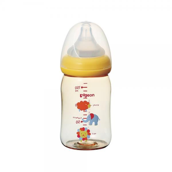 Bình sữa PPSU Plus Thú cưng Pigeon 160ml (SS)