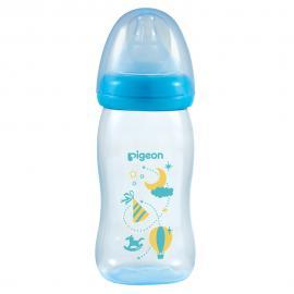 Bình sữa PP Plus họa tiết xanh 240ml (M)